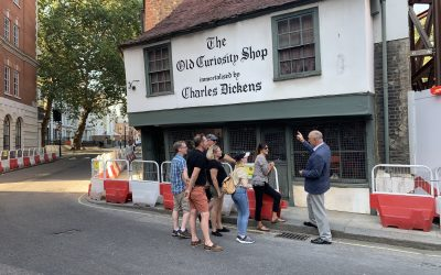 LITERARY TOUR OF LONDON 7 HOURS