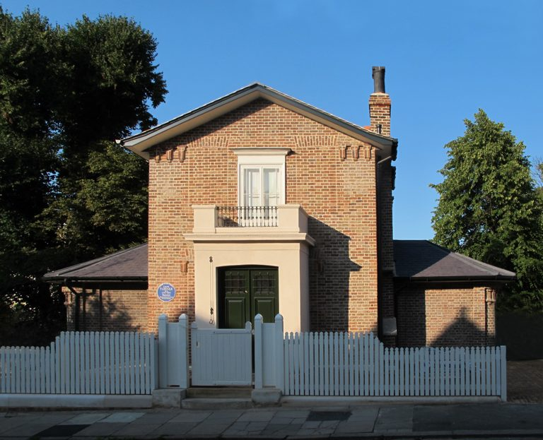 JMW Turner Exhibition London Sandycombe Lodge