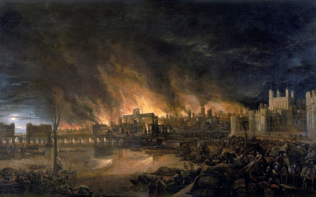 The great fire of London private walking tour London history